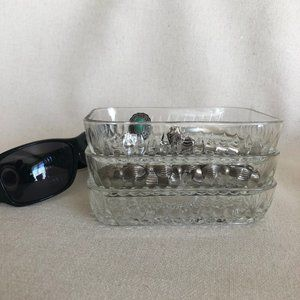 Duralex Rectangular Tempered Glass  Bowls - Dish